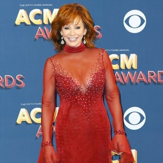 Reba McEntire in 53rd Academy of Country Music Awards - Press Room