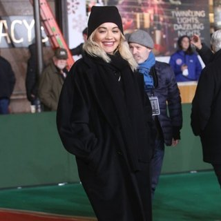 Rita Ora in The 92nd Macy's Thanksgiving Day Parade Rehearsals