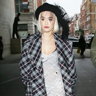 Rita Ora in Rita Ora Seen Leaving Radio 2