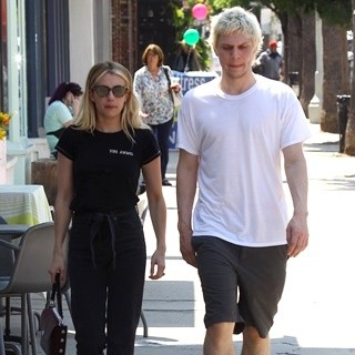 Emma Roberts and Evan Peters Spotted Together in The Studio City Neighborhood