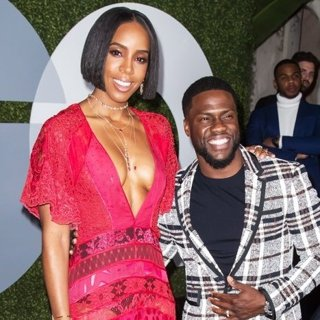 Kelly Rowland, Kevin Hart in GQ Men of The Year Party 2016 - Arrivals