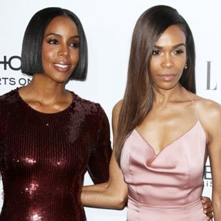 Kelly Rowland, Michelle Williams (II) in 23rd Annual ELLE Women in Hollywood Awards
