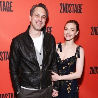 Thomas Sadoski, Amanda Seyfried in Second Stage Theater 40th Birthday Gala - Arrivals