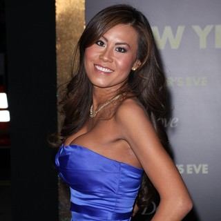 Serena Poon in Los Angeles Premiere of New Year's Eve