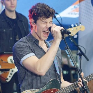 Shawn Mendes Performing on NBC's Today Show