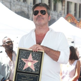 Simon Cowell Is Honoured with A Star on The Hollywood Walk of Fame