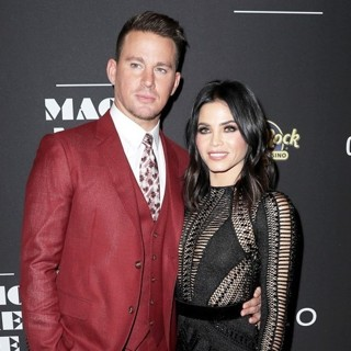 Channing Tatum, Jenna Dewan in Magic Mike Live Las Vegas Celebrates Official Opening Night