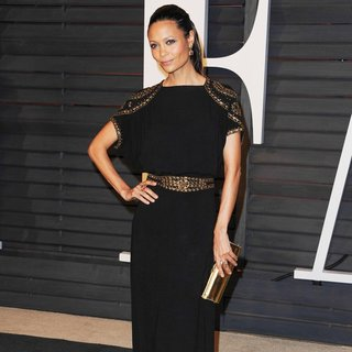 Thandie Newton in 2015 Vanity Fair Oscar Party