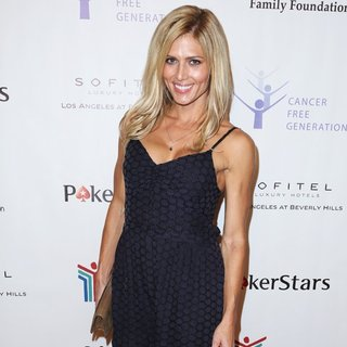 Torrie Wilson in Tower Cancer Research Foundation's Inaugural Cancer Free Generation Poker Tournament