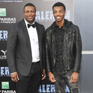 Chris Tucker, Destin Tucker in Valerian and the City of a Thousand Planets Premiere