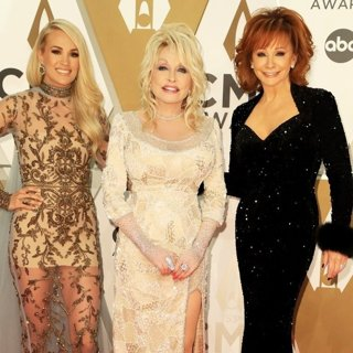 Carrie Underwood, Dolly Parton, Reba McEntire in CMA Awards 2019 - Arrivals