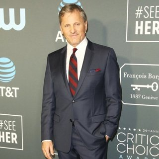 Viggo Mortensen in 24th Annual Critic's Choice Awards - Arrivals