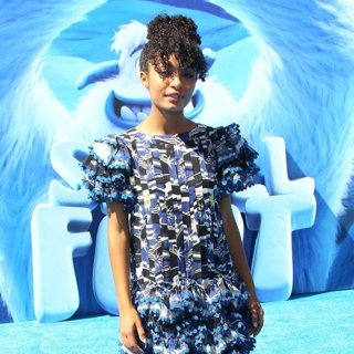 Yara Shahidi in Los Angeles Premiere of Smallfoot - Arrivals