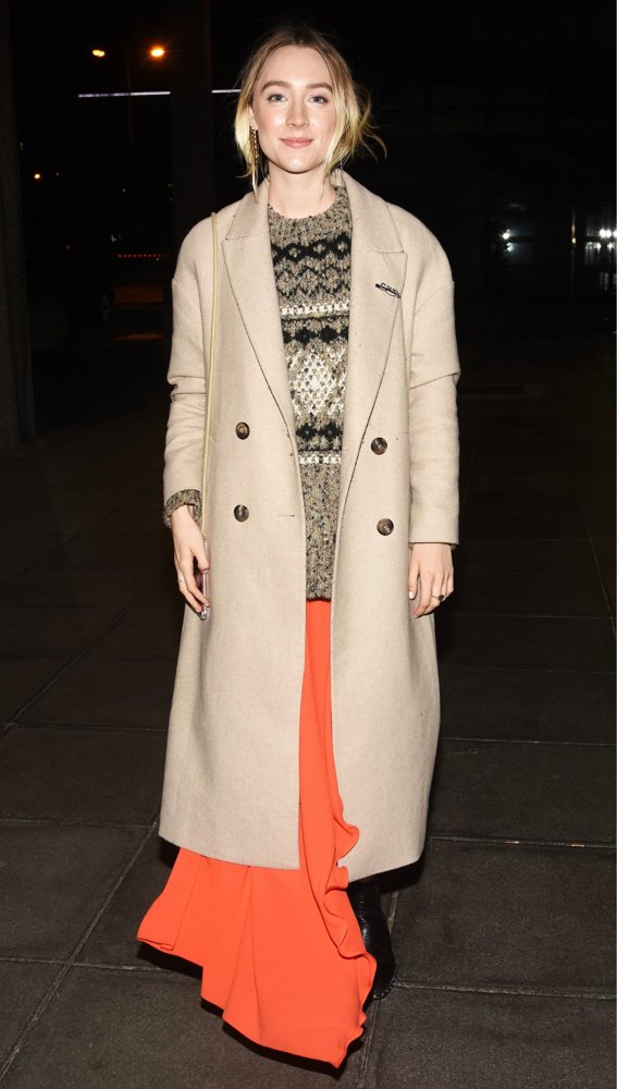 Saoirse Ronan<br>Saoirse Ronan Arrives at RTE Studios for The Late Late Show