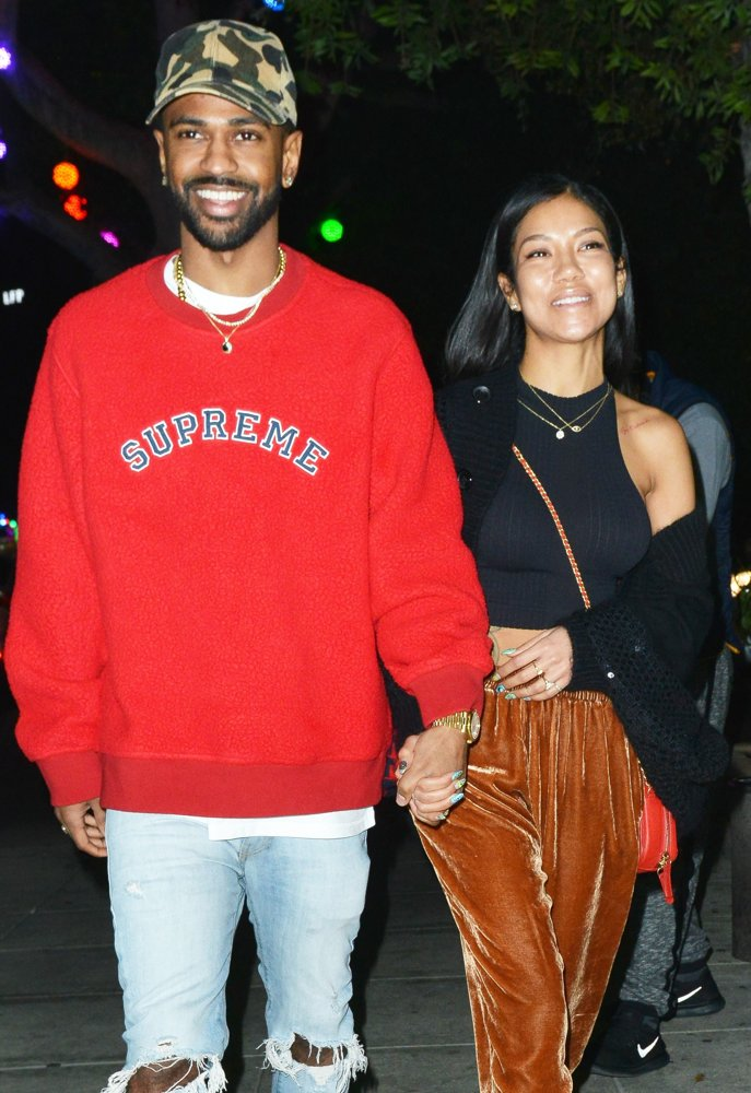 Big Sean, Jhene Aiko<br>Big Sean at Matsuhisa Restaurant with Jhene Aiko