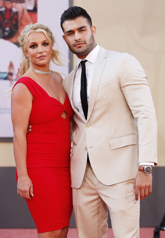 Britney Spears, Sam Asghari<br>Once Upon a Time in Hollywood Premiere