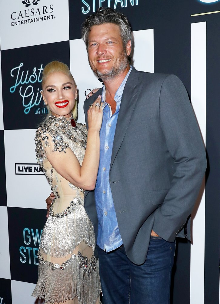 Gwen Stefani, Blake Shelton<br>Gwen Stefani - Just A Girl Red Carpet - Arrivals