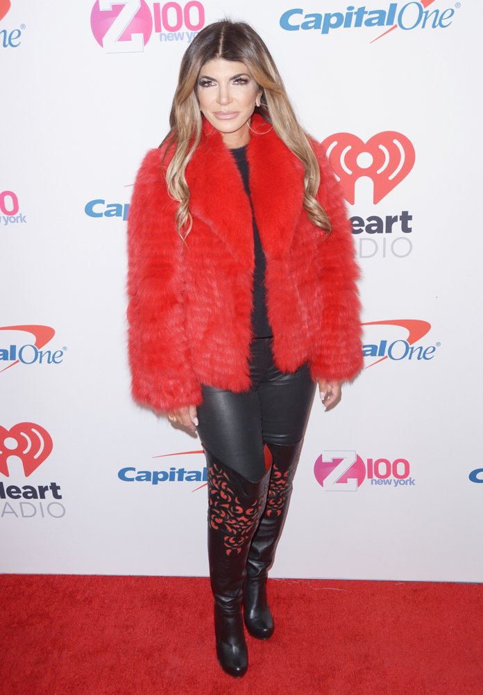Teresa Giudice<br>2018 Z100's Jingle Ball - Red Carpet Arrivals