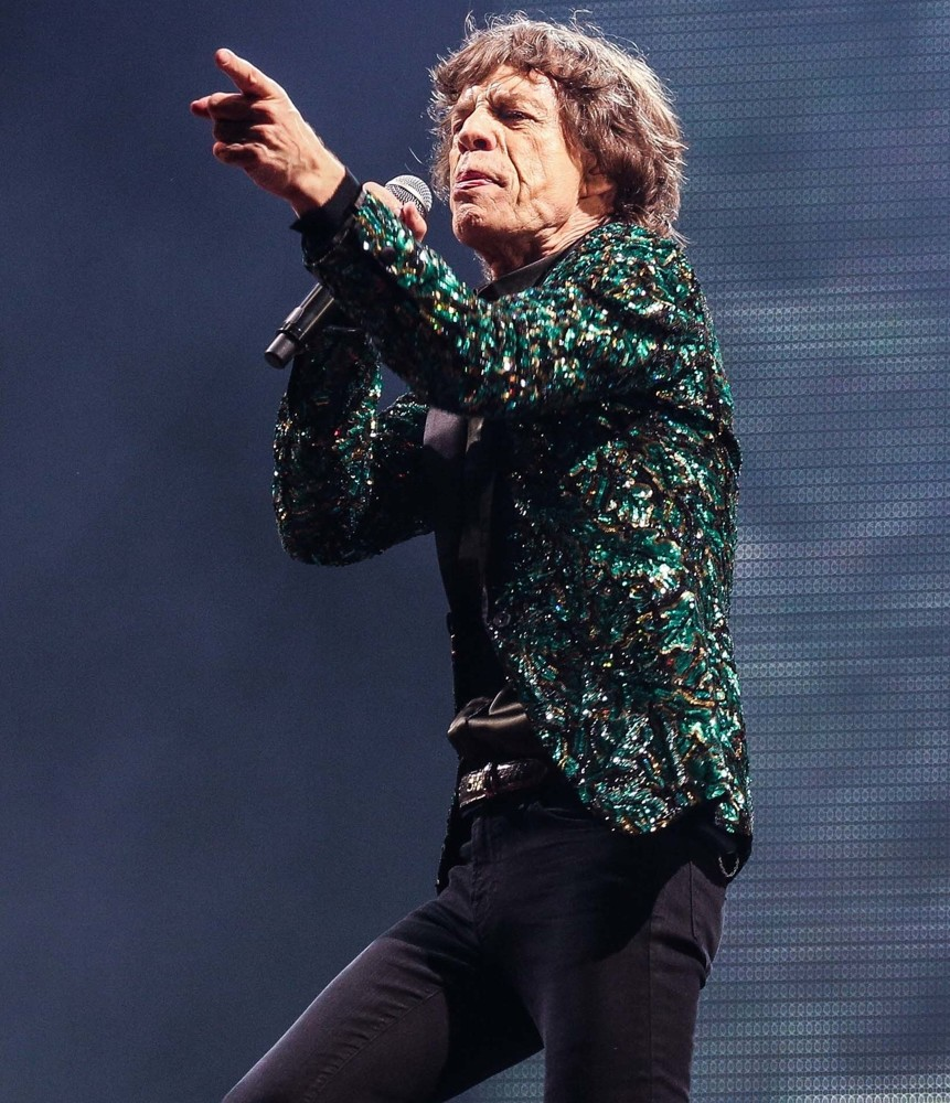 Mick Jagger, The Rolling Stones<br>The 2013 Glastonbury Festival