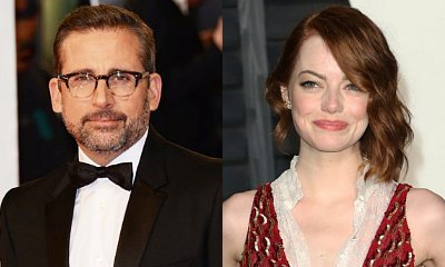 Steve Carell and Emma Stone Set Up for 'Battle of the Sexes'