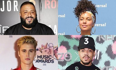 DJ Khaled May Be Working on New Music With Alicia Keys, Justin Bieber and Chance the Rapper