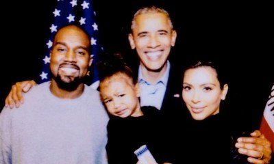 Kim Kardashian Says Goodbye to Barack Obama's Presidency With Throwback Pics