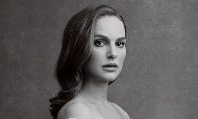 Natalie Portman Bares Her Baby Bump While Channeling Demi Moore for Vanity Fair