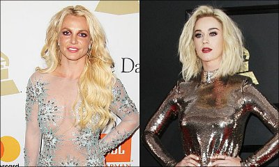 Britney Spears Claps Back at Katy Perry's Head-Shaving Jokes at Grammys