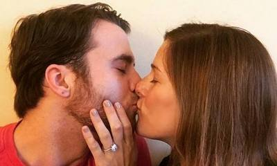 Cassadee Pope Flashes Her New Ring After Engaged to Rian Dawson