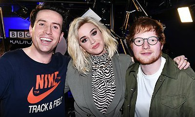 Watch Ed Sheeran Adorably Crash Katy Perry's Interview