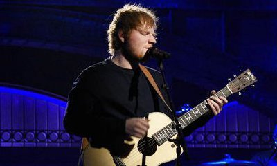 Ed Sheeran Performs His New Songs on 'SNL'