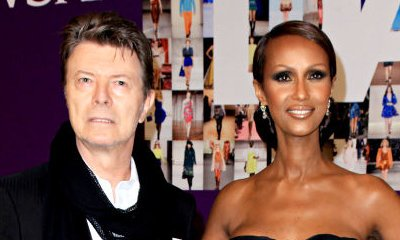 Iman Shares Sweet Tribute to Late Husband David Bowie on Valentine's Day