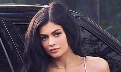 Kylie Jenner Steps Out in Skimpy Corset and Skirt