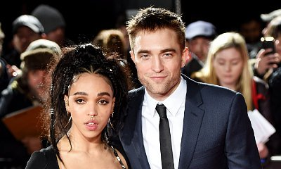 Robert Pattinson Gets Touchy-Feely With Fiancee FKA twigs at 'The Lost City of Z' London Premiere