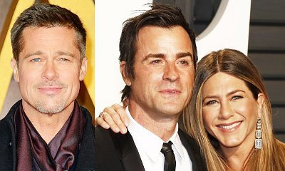 Brad Pitt Reportedly Missing the Oscars to Avoid Jennifer Aniston and Justin Theroux