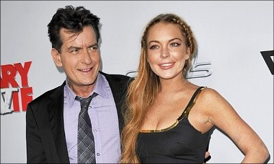 Charlie Sheen Opens Up About His Wild Night With Lindsay Lohan: 'She Literally Tucked Me In'