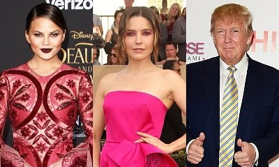 Chrissy Teigen and Sophia Bush React to Donald Trump's Leaked Tax Returns