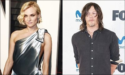 Diane Kruger and Norman Reedus Caught in Lip-Lock Amid Romance Rumors