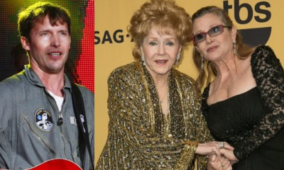 James Blunt Sings Touching New Song at Carrie Fisher and Debbie Reynolds' Memorial