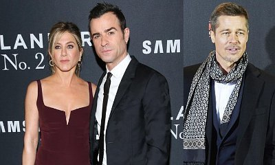 Justin Theroux Reportedly Upset Over Jennifer Aniston Reconnecting With Brad Pitt