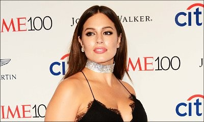 Poor Ashley Graham! Model Trips in Her Cleavage-Baring Gown on Time 100 Red Carpet