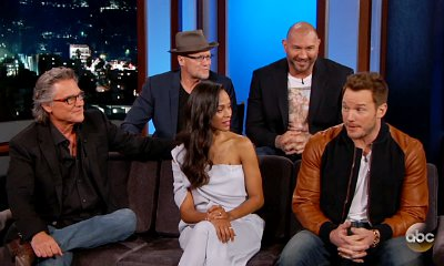 Chris Pratt and Zoe Saldana Reveal Their Kids' Adorable Reaction to 'Guardians of the Galaxy'