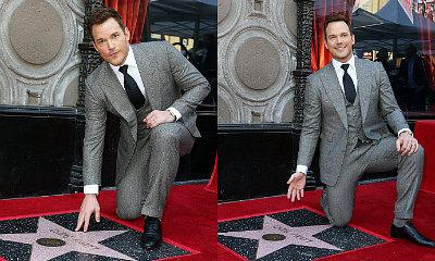 Chris Pratt Delivers Emotional Speech While Receiving Star on Hollywood Walk of Fame