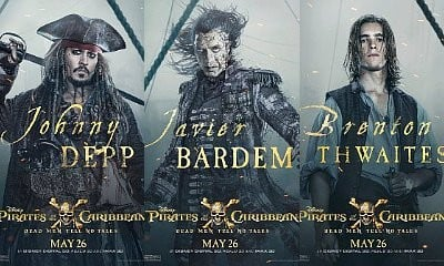 See Jack Sparrow, Villain Salazar and Henry Turner in 'Pirates of the Caribbean 5' New Posters