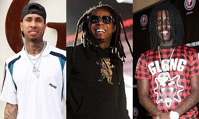 Tyga Teams Up With Lil Wayne and Chief Keef to Blast Haters on New Songs 'Act Ghetto' and '100s'