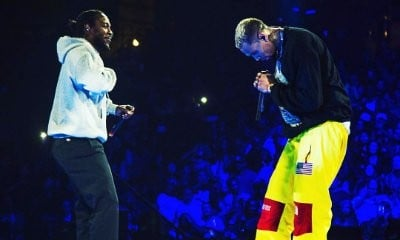 Chris Brown Brings Out Kendrick Lamar on 'Party Tour' in Anaheim