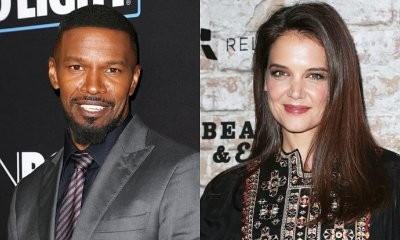 Jamie Foxx and Katie Holmes Board Private Jet Together in Paris Despite Boldly Denying Romance