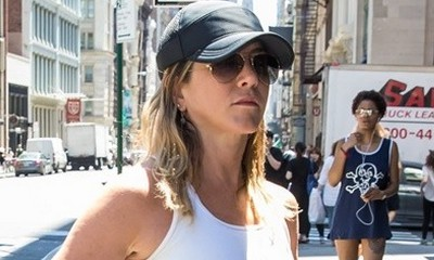 Free the Nipples! Jennifer Aniston Goes Braless in WeHo