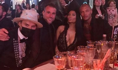 From Jail to Cannes! 'Hot Felon' Jeremy Meeks Partying With Nicki Minaj at amfAR Gala