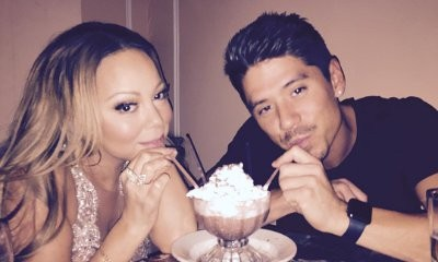Mariah Carey Spotted Kissing Bryan Tanaka During Intimate Dinner Date